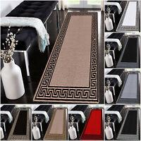 Non Slip Long Narrow Hall Runner Rugs Bedroom Hallway Kitchen Carpet Floor Mat