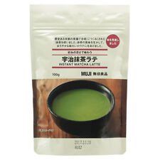Muji Japan Real Uji Green Tea Matcha Latte Instant Powdered Drink 100g