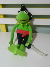 KERMIT PLUSH TOY DRESSED AS A PIRATE 1995 MUPPET JIM HENSON CHARACTER TOY