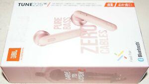 New JBL Tune 225 TWS JBLT225TWSPIK True Wireless In- ear Earbuds Earphones -Pink
