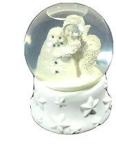 "Dept 56 SnowBabies Snow Globe I'll Hug You Goodnight ""Frosty The Snowman""Retired"