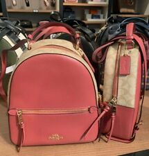 Authentic Coach JORDYN BACKPACK WITH SIGNATURE CANVAS (COACH F76622)