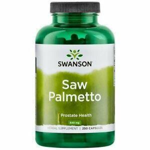 SWANSON Saw Palmetto 540mg - 250 Kapseln Prostata Vorsteherdrüse Sägepalme