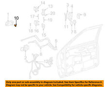 GM OEM Front Door-Lock Cylinder 12547541