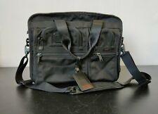 Tumi  Black Alpha Expandable Organizer Laptop Brief Case 026141 Messager Bag