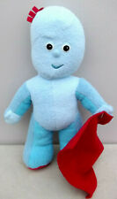 "Night Garden hablando musical In The 13"" IGGLE PIGGLE suave juguete de felpa con Manta"