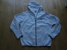 NIKE mens white hooded lightweight packable jacket coat SIZE XL EXCELLENT COND