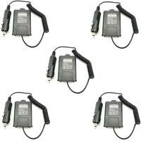 5X BL-5 Battery Eliminator BaoFeng UV-5R DM-5R UV-5RA Walkie Talkie Car Chargers