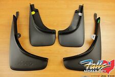 2014-2018 Jeep Cherokee Deluxe Molded Front & Rear Splash Guards Mud Flaps Mopar