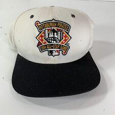 Vintage New Era Pittsburgh Pirates 1994 MLB All Star Game Snapback Hat White M/L