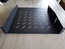 OmniMount 2U Shelf Custom Mounting Vented Rack Shelf RE2USHELF