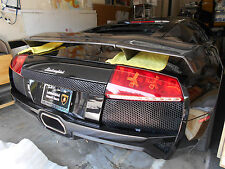 LAMBORGHINI MURCIELAGO LP640 FULL CARBON FIBER FINISH REAR BIG WING / SPOILER