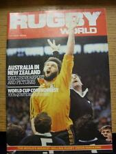 01/10/1982 Rugby World Magazine: October Edition - Complete Issue of the monthly