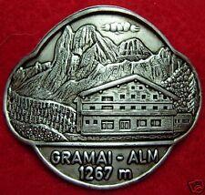Gramai Alm hiking medallion stocknagel G0815