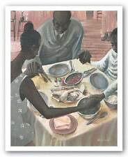 AFRICAN AMERICAN ART PRINT Grace John Holyfield 22x28