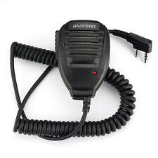 Micrófono altavoz con PTT para Baofeng y Puxing, Kenwood, etc