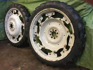 Ford 8.3 x 44 Rowcrop Tyres/Rims (Pair) - NVC809C