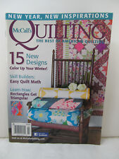 McCall's Quilting - The Best of American Quilting - January/February 2016