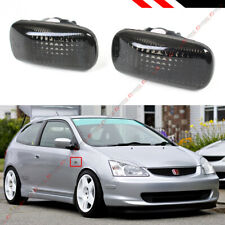 FOR CIVIC ES EP3 FD RSX DC5 JDM SMOKE TINTED LENS FENDER SIDE MARKER LAMP LIGHT