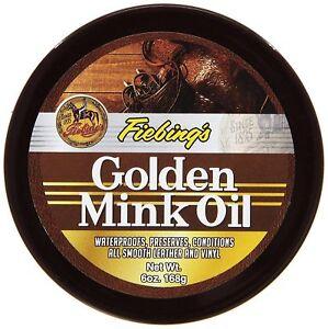 Fiebing's Golden Mink Oil Leather Conditioner 6oz