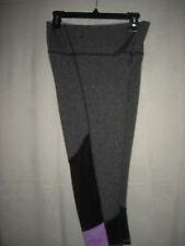 Nwt Shosho 4-Way! Stretch Athletic Leggings Capri Pants Misses Cropped 32-34 M/L
