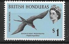 BRITISH HONDURAS SG211 1962 $1 BIRD  MNH