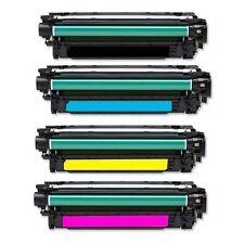 HP CE250A CE251A CE252A CE253A TONER Color Laserjet CM3530 CP3525 SET CE250X