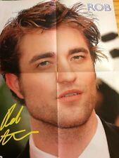 Robert Pattinson, Taylor Lautner, Double Four Page Foldout Poster
