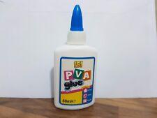 PVA Adhesive Glue 60ml -General Purpose,paper cardboard wood fabric craft etc