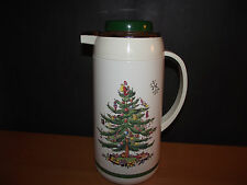 Spode Christmas Tree Plastic Thermos/Carafe & Lid