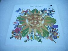 TEARS FOR FEARS  / GREATEST HITS - THE VIDEOS  Europe Laserdisc Pal version