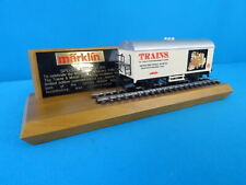 Marklin 4415 US MILWAUKEE Public Museum TRAINS set wooden Presentation plank