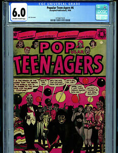 Popular Teen-agers #6 CGC 6.0  1954 Accepted Publications Comic Amricons K27