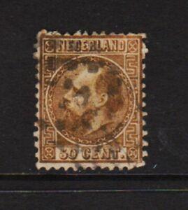Netherlands - #12 used, cat. $ 160.00