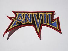 ANVIL LOGO HEAVY METAL EMBROIDERED PATCH
