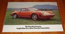 Original 1974 Porsche 911 911S Carrera Sales Brochure