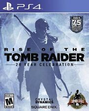 RISE OF THE TOMB RAIDER 20 YEAR CELEBRATION PS4 GAME - BRAND NEW AND SEALED