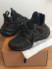 NIB Louis Vuitton LV Archlight Sneaker in Black Monogram sz 40