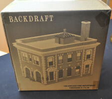 Code 3 Chicago Fire Department Backdraft Station Boxed 13107