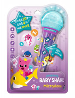 Pinkfong Baby Shark Family Microphone & Book Children Song Toy English Version