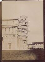 Pisa Italia Foto Amateur Viaggio IN Italia 1898 Vintage Citrate