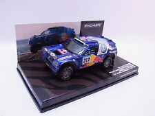 Lot 26220 | MINICHAMPS 436055317 VW Race Touareg Dakar 2005 Voiture Miniature 1:43 neuf dans sa boîte
