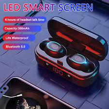 Bluetooth 5.0 Headset Tws Wireless Earphones Mini Earbud Touch Stereo Headphones