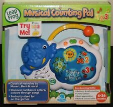 LEAP FROG MUSICAL COUNTING PAL LEARN NUMBERS, COLOURS & MUSIC APPRECIATION ~ NEW