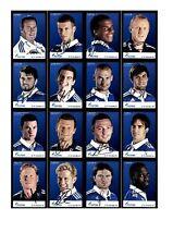 Autogrammkartensatz FC Schalke 04 2011-12 33 Karten Original Signiert(206)