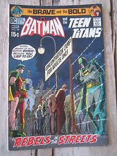 Brave and The Bold #94 Batman and The Teen Titans Comic Book 1971
