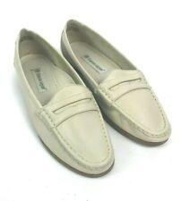 Vtg Etienne Aigner Womens Sz 9M Shoes Judi Penny Loafer Cream Leather Upper NWOB