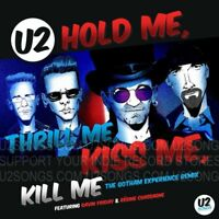"U2 Hold Me, Thrill Me, Kiss Me, Kill Me 12"" EP RSD Black Friday 2018 Bono Edge"