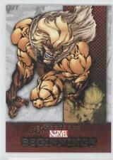 2011 Upper Deck Marvel Beginnings Series 1 #62 Sabretooth Non-Sports Card 0p3