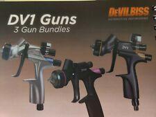 Devilbiss Dv1 3 Gun Combo Special! 704532 704504 704520